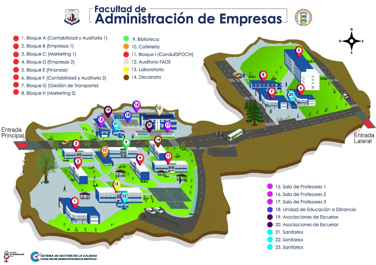 Mapa FADE