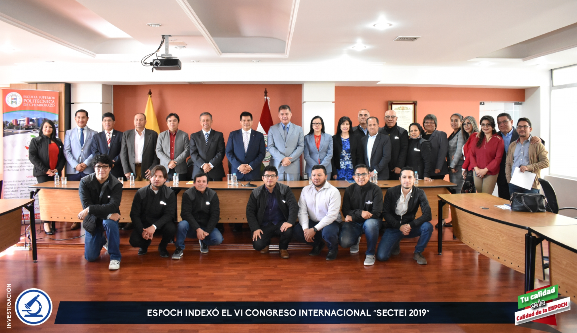 "ESPOCH INDEXED THE VI INTERNATIONAL CONGRESS ""SECTEI 2019"""