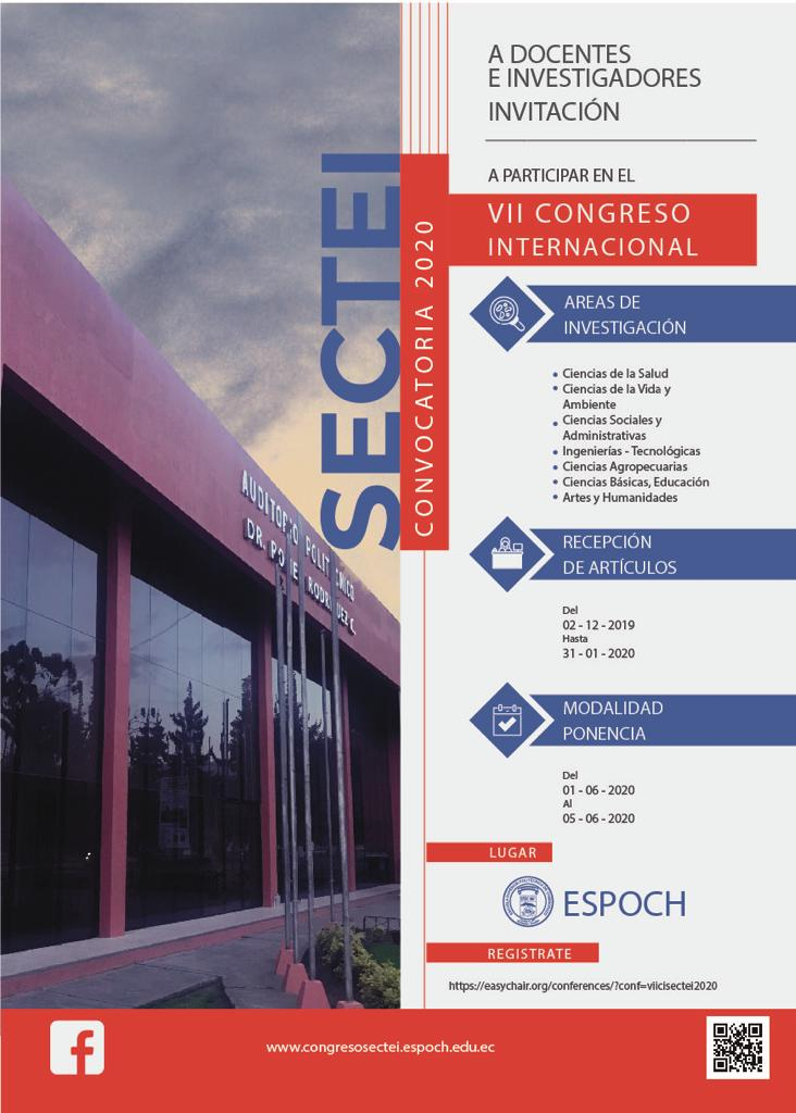 VII INTERNATIONAL CONGRESS SECTEI 2020